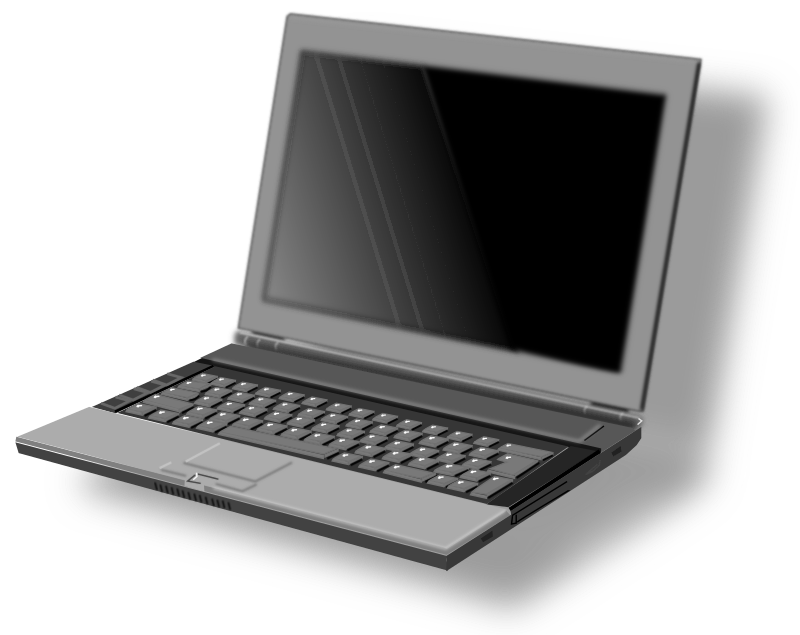 Laptop by mystica