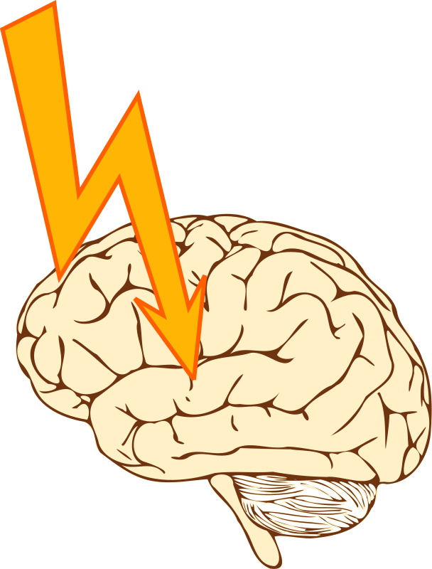 Stroke by Moini - Symbol for an apoplectic stroke. As smoking causes the vessels to close up, it can lead to a stroke when a brain vessel closes.