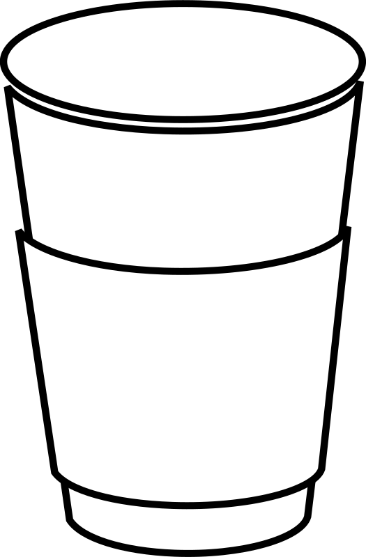 clipart paper coffee cup