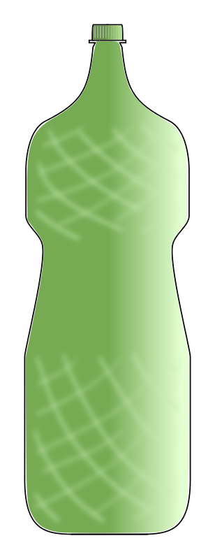 Clipart - water bottle