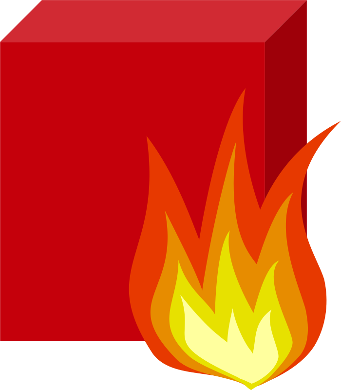 Firewall by saisyukusanagi - Clipart for computer and network diagrams