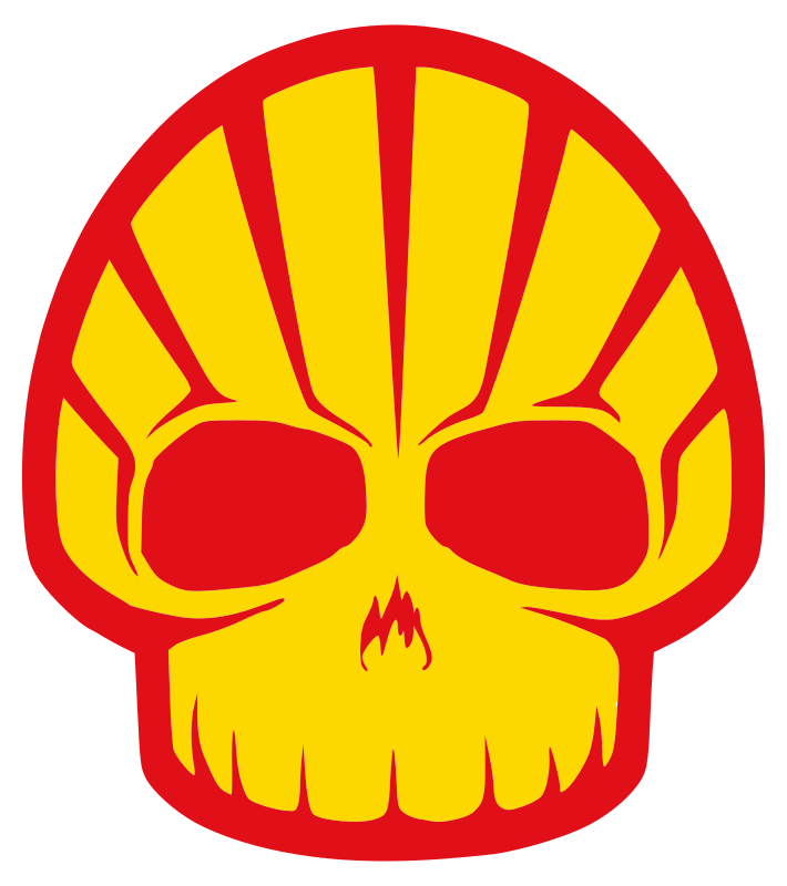 shell by worker