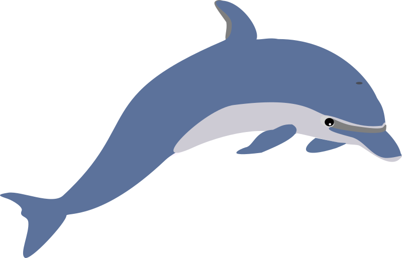 Another dolphin by emeza - Old drawing