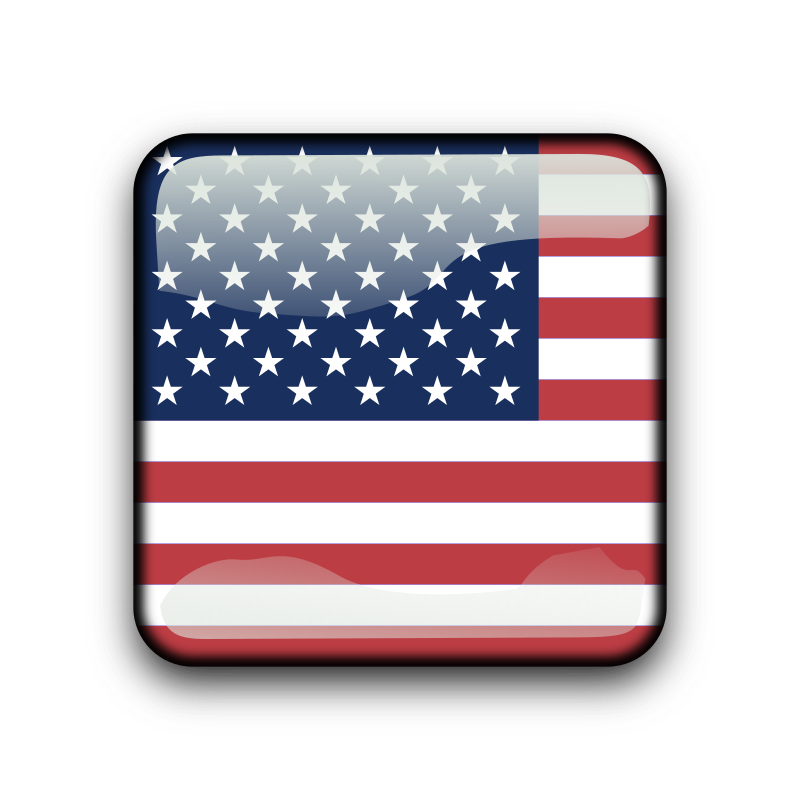 us - united states by koppi - country flag buttons (with ISO-3166-1 naming convention)