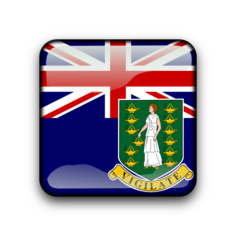 British Virgin Islands - vg by koppi - country flag buttons (with ISO-3166-1 naming convention)