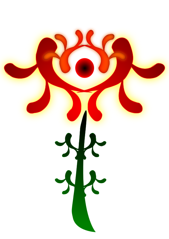 Super Flower by arcdroid - Artistic Flower I made for fun, I hope you like it!