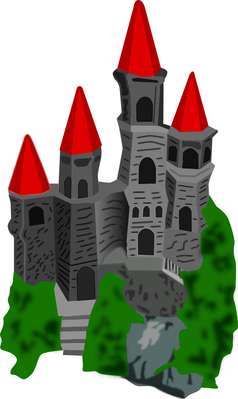 Castle (color) by mystica