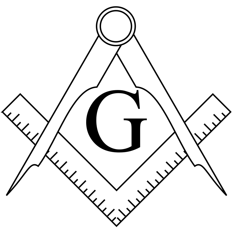 Square and Compasses by coder7 - Masonic Square and Compasses