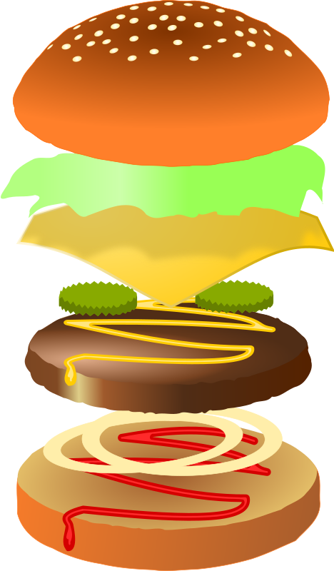 Hamburger by studio_hades - I hope someone finds this hamburger useful.