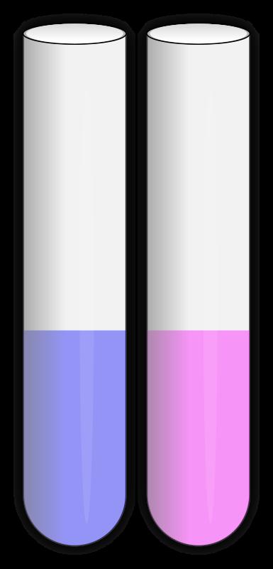 Clipart - Test Tubes (Open)