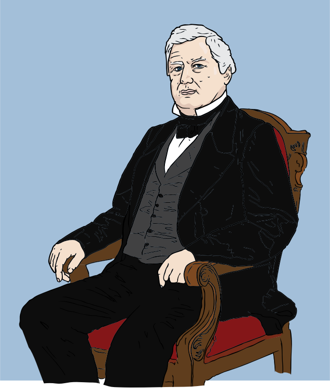 Millard Fillmore by SteveLambert - Millard Fillmore, 13th President of the United States. Drawn from a photographed portrait.
