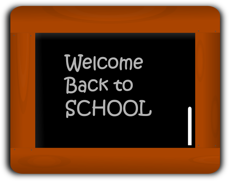 chalk slate by gsagri04 - Welcome Back to School on Chalk Slate