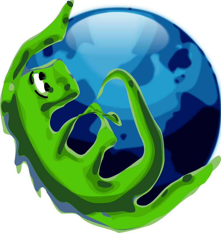 "Alternate Mozilla Browser Icon by roystonlodge - I created this icon because I didn't like the default icon for the K-Meleon internet browser. It features Mozilla the Lizard spanning the ""Firefox Globe"". I use Icon Sushi to convert it to .ico format."