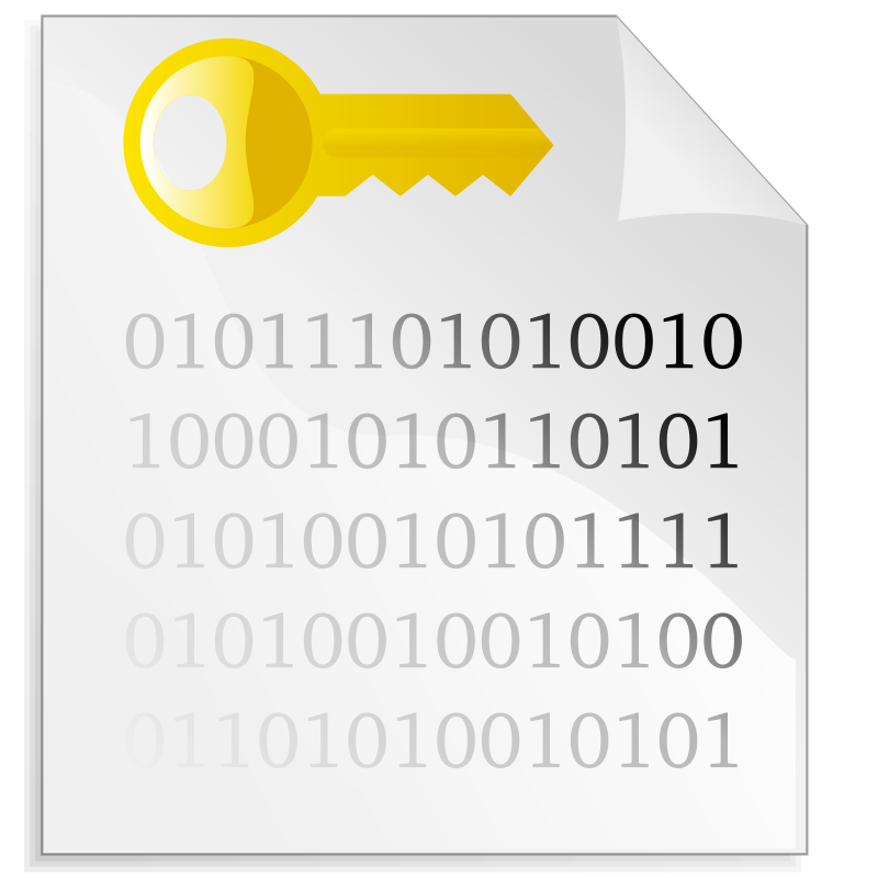 Encrypted file icon by spylt - An icon representing an encrypted file