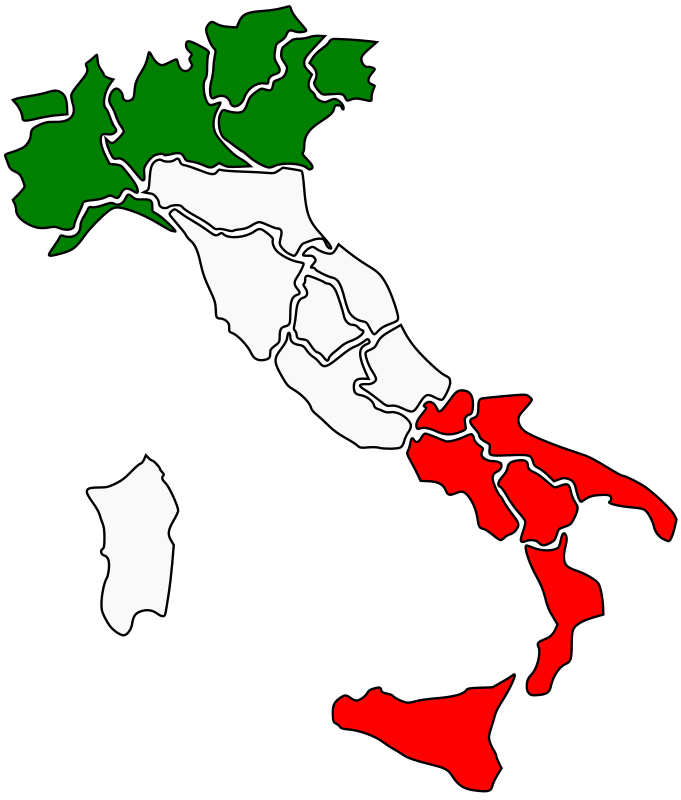 Italy Map by marcoqf73 - Italy flag map
