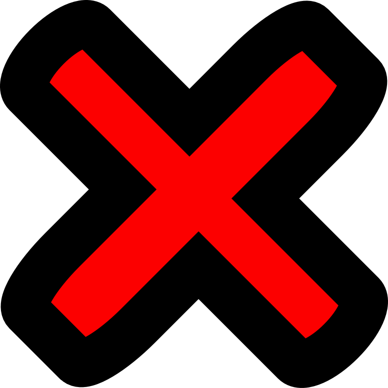 cross by mcol - A red cross.
