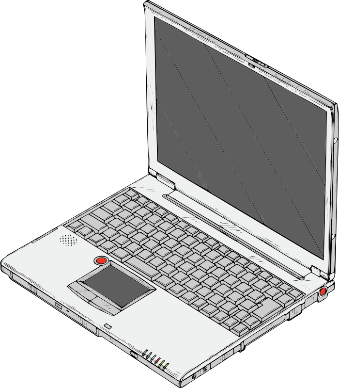 laptop by johnny_automatic - a laptop computer from a U.S. Patent drawing