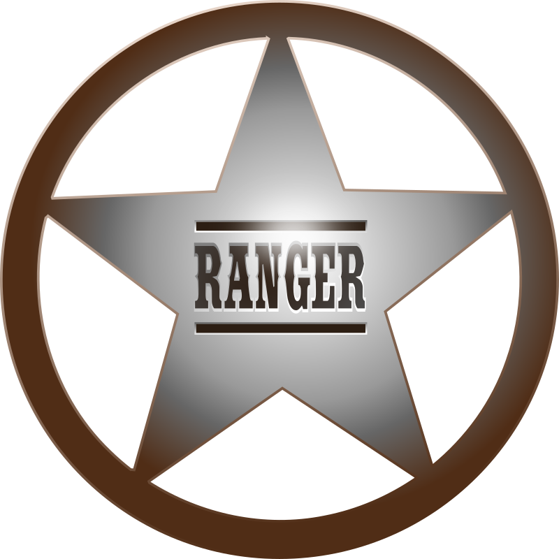 Clipart - (Texas) Ranger Star