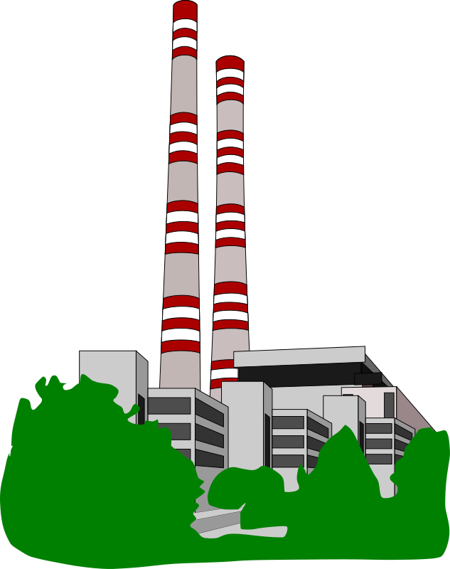 conventional power station by bravebug - conventional power electricity-generating electrical station,