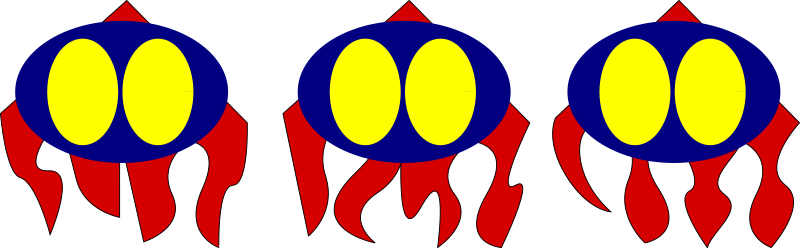 Robot Octopus icon by milker - This is design for pyweek#6