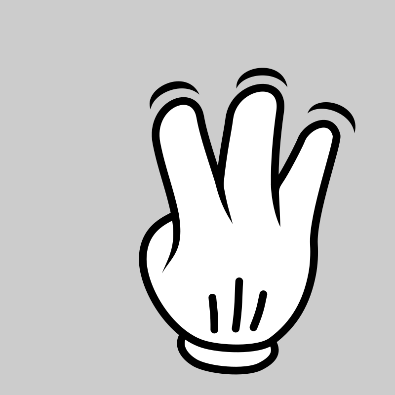 MultiTouch-Interface Mouse-theme 3-fingers-Simple-Tap by BenBois