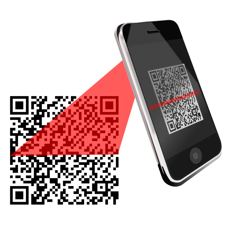 QR Scanner Red by centroacademico