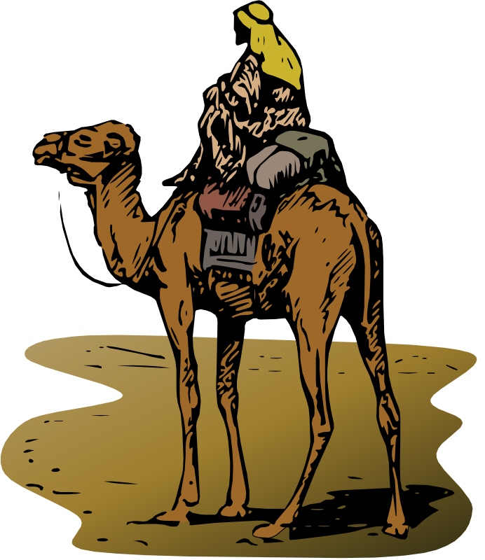Camel with Rider by Gerald_G - http://www.churchcontent.info/cbr/