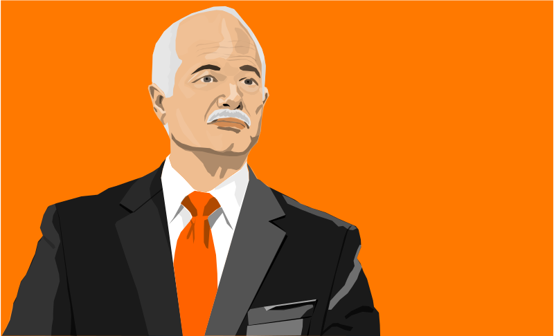Jack Layton by gingercoons