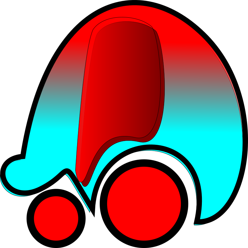 Red Car Icon by milker