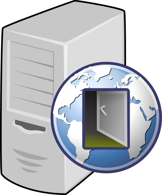 Proxy server graphic