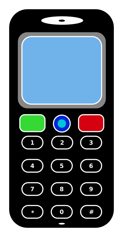 Clipart - Mobile Phone