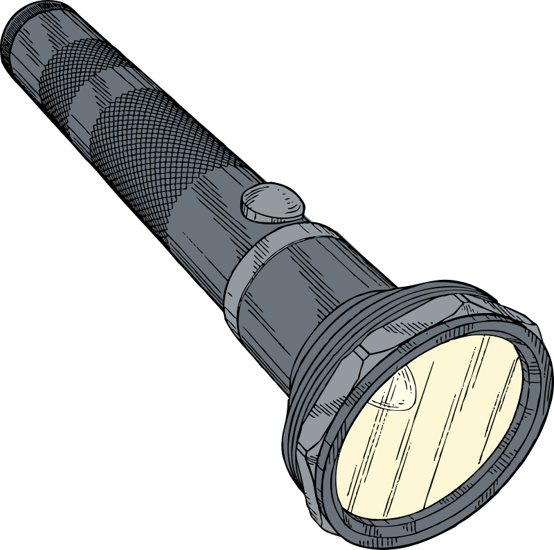 flashlight by johnny_automatic - a flashlight from a U.S. patent drawing