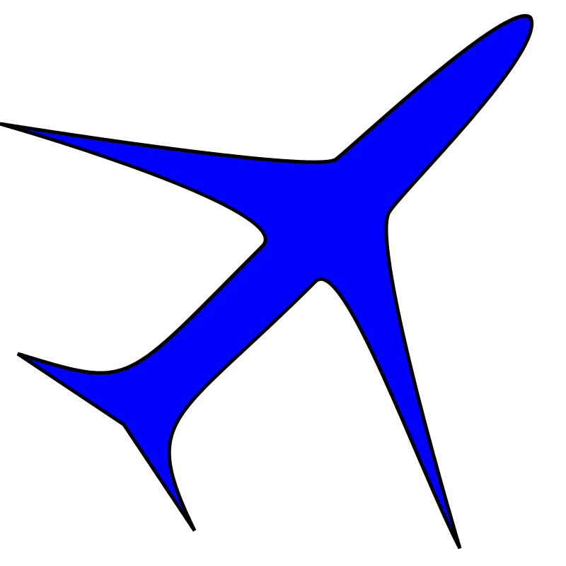 Boing plane icon by SABROG
