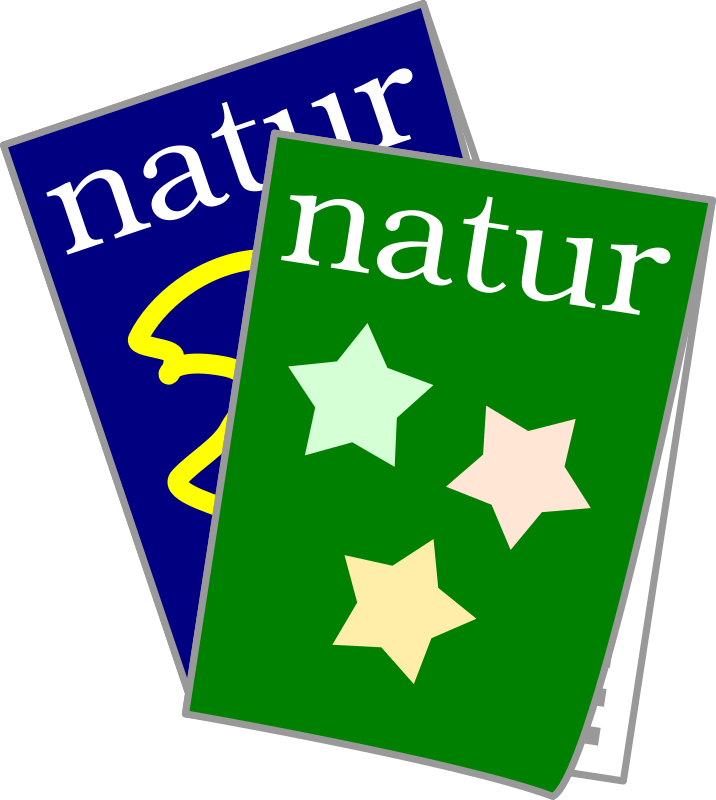 "scientific journals by jetxee - Two issues of the journal ""Natur"" (fictional)."