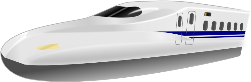 Shinkansen N700 Frontview by uroesch - Shinkansen N700 Frontview. Traced from a picture taken at Shin Kobe station.