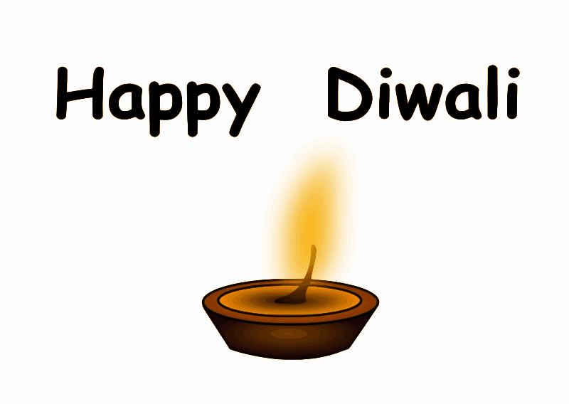 lights by pranav - Original clip art by chikiyo. Happy Diwali. Diwali ...