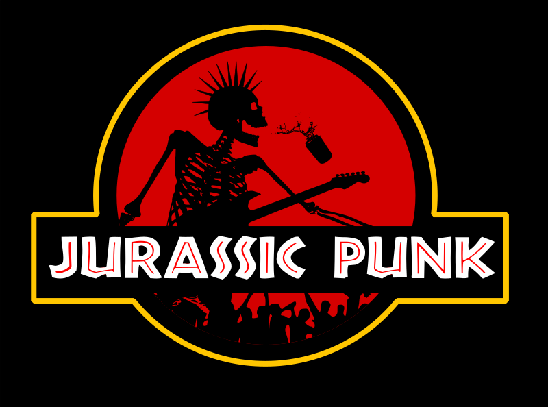 Jurassic Punk by Chrisdesign - A very old idea from me...