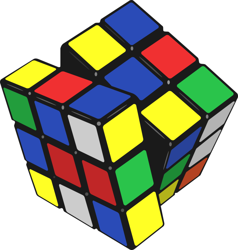 cube of Rubik by sprint - cube of Rubik