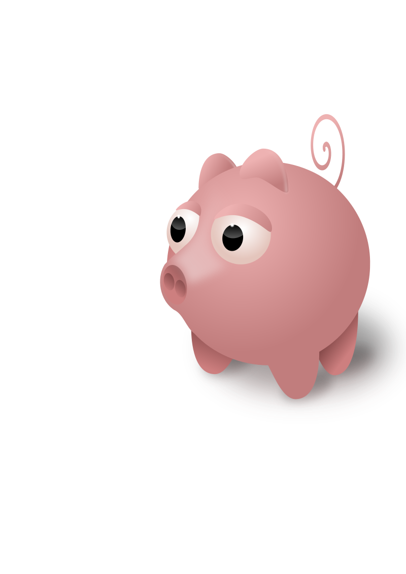 Pig by redbask - created in inkscape ( not really IE compatible )