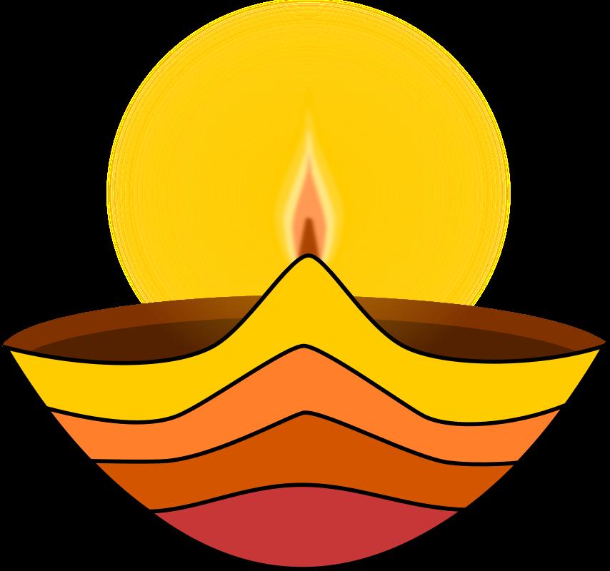 Diwali Lamp Clip Art