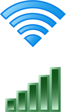 Clipart - Wireless Icons