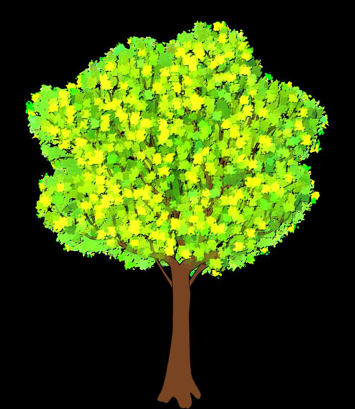 Spring Tree Clip ArtSpring Tree Clip Art