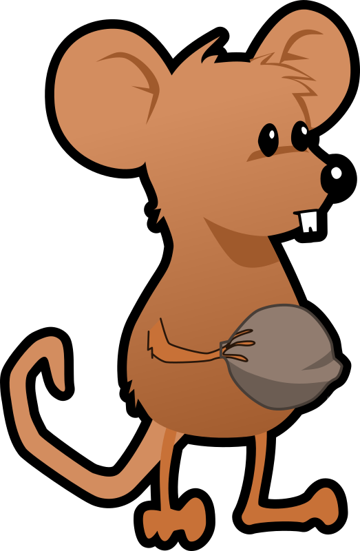 Walnut Clipart Clipart - mouse