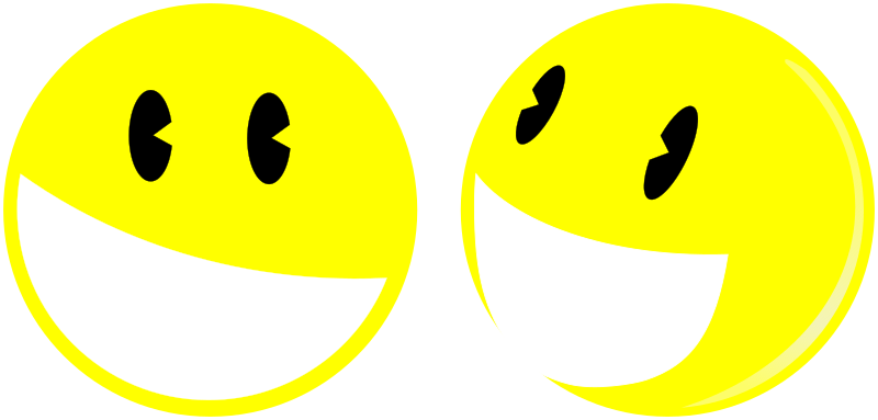 Smiley Bros by Fabitxu(k) - clip art, clipart, smile, smiley, sonrisa, souriant, sourire,
