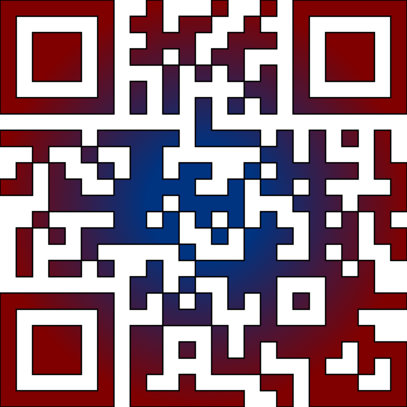 OpenClipArt.org in QRcode by kg - A QR-code, I made using http://qrcode.littleidiot.be/ service. A decoder can be found at http://zxing.org/w/decode.jspx in addition to smart phones apps.