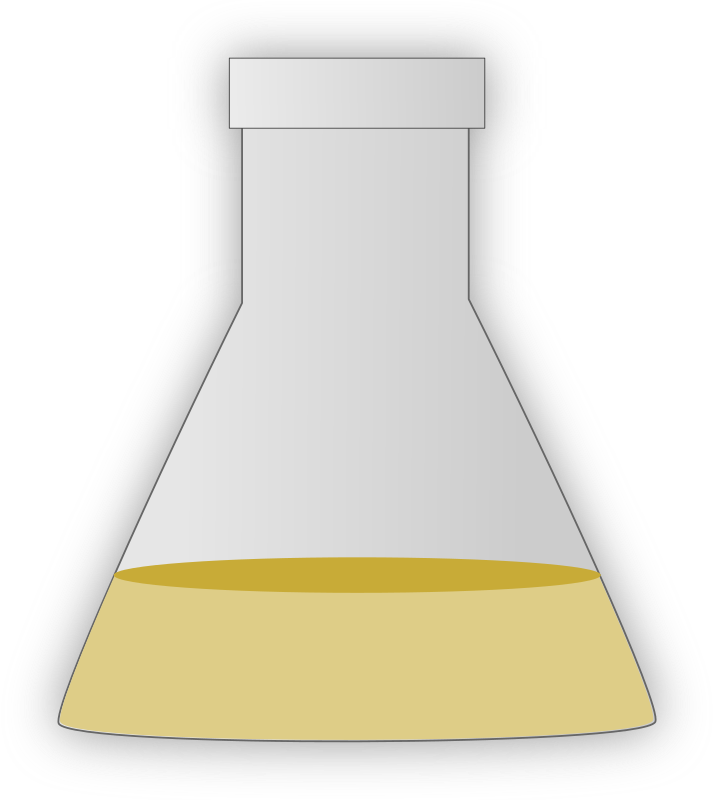Conical Flask by gsagri04 - Conical flask clip-art