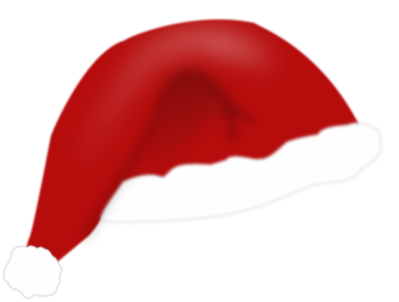 santa hat clipart with transparent background - photo #29