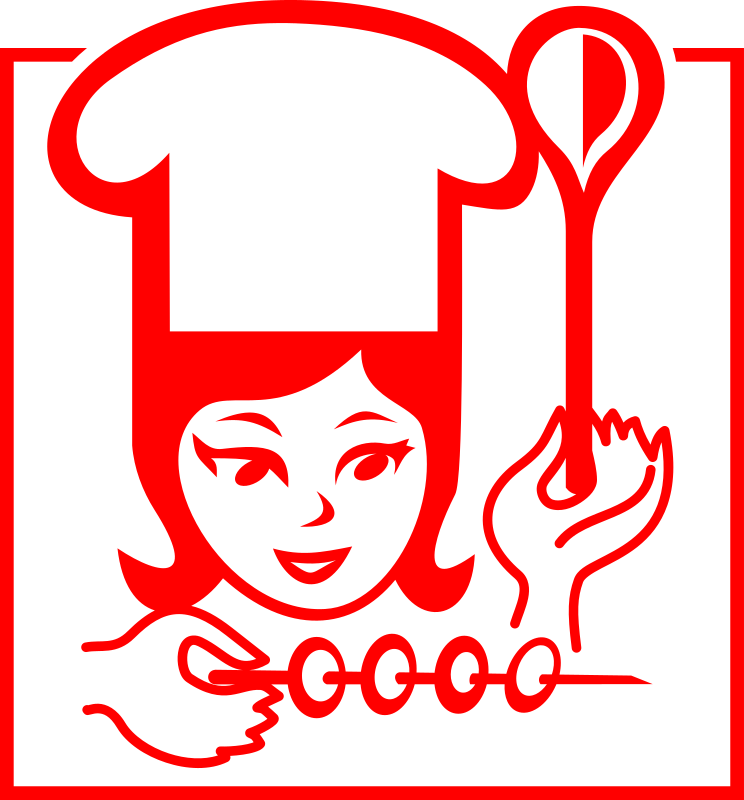 Lady-Cook by rones - female chef