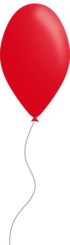 Red balloon by Caig - A simple red balloon