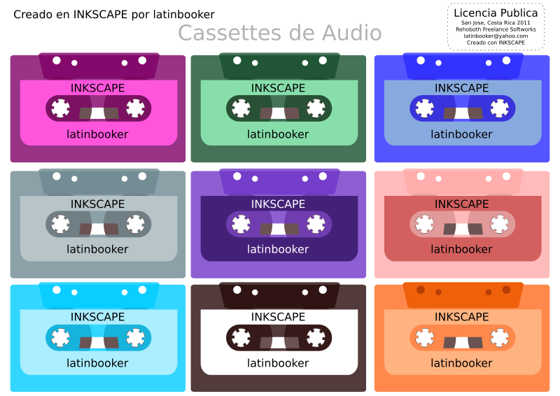 Cassettes de Audio by latinbooker